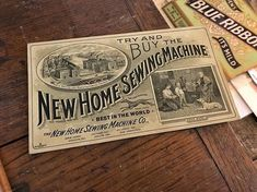 Sometimes the combination of seeing a top notch piece of ephemera that's available and also affordable occurs and we capitalize on it. Heavy emphasis on the sometimes. The lettering job on this one is just about perfection. #vintageadvertising #vintagelet