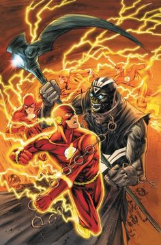 The Flash vs. Nekron by Francis Manapul
