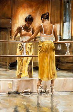 focus / Oil on canvas painting by Canadian artist Paul Van Ginkel.