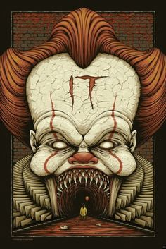 The Most Terrifying 'IT' 2017 Poster Has Arrived - Bloody Disgusting