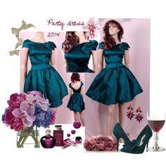 """""""Party dress 2014"""" by uptodatefashion-julia on Polyvore"""