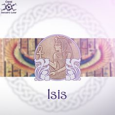 Goddess Isis - Egyptian Goddess of Love and Magic - Santuário Lunar Isis Goddess, Egyptian Goddess, Goddess Of Love, Wiccan, Magick, Witchcraft, Rihanna, Paganism, Deities