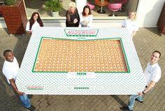 This is a box of 2 400 Krispy Kreme Donuts