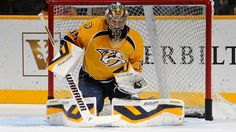 Nashville Predators Pekka Rinne   Nashville Predatorsin maalivahti Pekka Rinne esitti yhden jääkiekon ...