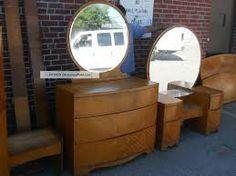 Antique Art Deco Bedroom Furnitureart Deco Waterfall Bedroom Set