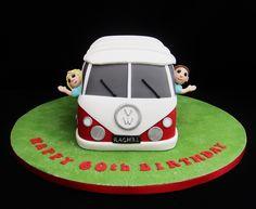 Camper Van Novelty Cake  07917815712  www.fancycakesbylinda.co.uk  www.facebook.com/fancycakeslinda