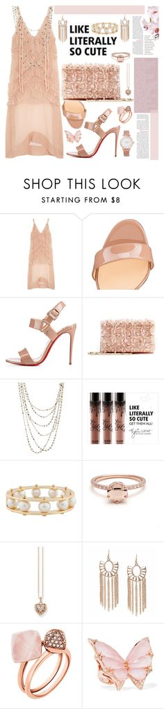 """""""Literally So Cute"""" by mrs-rc ❤ liked on Polyvore featuring N°21, Christian Louboutin, Oscar de la Renta, Sidney Garber, Lele Sadoughi, Thomas Sabo, Michael Kors, Stephen Webster and Larsson & Jennings"""