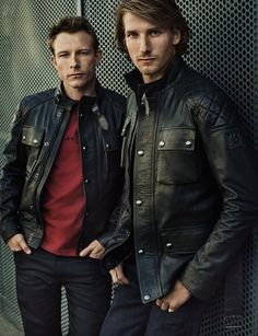 8118d85a2483 Belstaff s latest collection pays homage to British F1 legend James Hunt by  Liam Feltham.