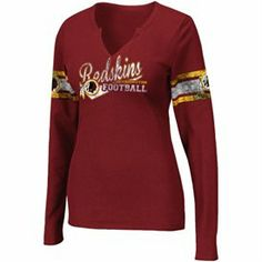 I like this one too!!!   Washington Redskins Women's Gear, Clothing, Merchandise - NFLShop.com