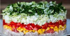Очень необычный и вкусный салат. Моим домочадцам он очень понравился и пришлось включить его в новогоднее меню.😉
