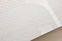 Exquisite printing techniques for Louis Vuitton – Invitation Origami by Happycentro, via Behance.