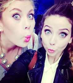 Louise and Zoe- SprinkleofGlitter and Zoella