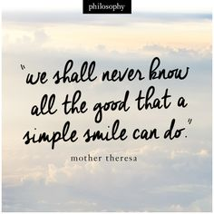 a simple smile leaves a lasting impression. #motivationmonday