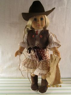 Cutie Cowgirl outfit for American Girl by SecondStoryStitches
