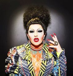 #HannahConda was voted Perth's favourite Drag Queen in 2012 and continues to wow crowds as a night club regular. She's also really great at creating incredibly terrifying costumes.