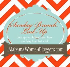 Sunday brunch link up for 10-26-14. Link up your blogs to this board!