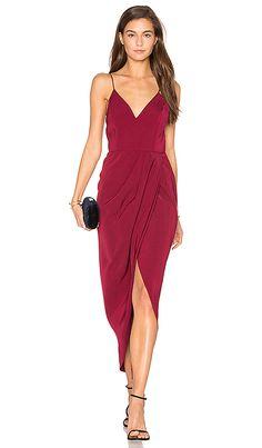 Core Cocktail Wrap Dress