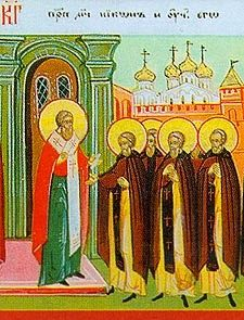 Science of the Saints, 23 March, The Holy Venerable-Martyr Nicon and his Students martyred with him Unclean Spirits, Evil Spirits, Sign Of The Cross, Praying To God, The Monks, The Eighth Day, Tears Of Joy, The Brethren, Persecution