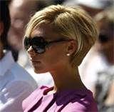 Image detail for -Victoria Beckham Short Hair Back View