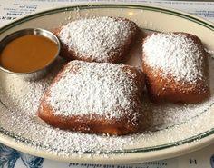 #beignets #powderedsugar #caramelsauce #dessert #sweets #bayoucreolekitchen in #themission #creole #southern