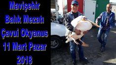 Mavişehir Balık Mezatı Çavuş Okyanus 11 Mart Pazar 2018