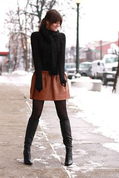 Such an adorable fall/winter outfit!