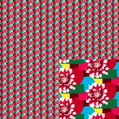 #Flowers and #shapes This is part of my January 2015 series #Tiny Repeats. #EmpireRuhl #pattern