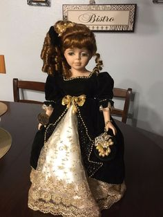 Beautiful Limited Edition Porcelain Doll by Collectors Choice Dolls,16"