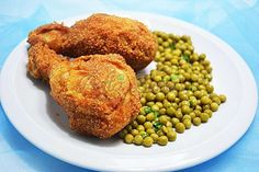 Pulpe de pui pane Frango Chicken, Fried Chicken, Baked Potato, Fries, Potatoes, Baking, Ethnic Recipes, Food, Cooking Recipes