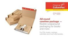 ColomPac® CP 020 Flexible Wraparound packaging - HD 1920 x 1080 Wrap Around, Flexibility, Usb Flash Drive, Packaging, Magazines, Catalog, Back Walkover, Wrapping, Usb Drive