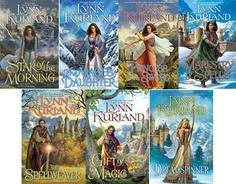 Nine Kingdoms series by Lynn Kurland Fantasy romance series