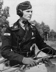 """Obersturmführer Joachim-Günther Schöntaube. SS Pz Abt 2.""""Das Reich"""""""