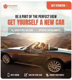 Auto financing for any credit situation. Online Signs, Huggies Diapers, Baby Samples, First Choice, Car Finance, Car Loans, Apply Online, Families, How To Apply