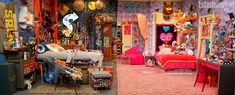Day aesthetic Russian Blue Cats Facts sam and cats room. two different styles room - Fan favorite Nickelodeon shows iCarly and Victorious have aired their final episodes, but the stories of their sidekick characters continue Sam And Cat, Cat Valentine, Icarly Bedroom, Cat Tiger, Cat Ideas, Icarly And Victorious, Cat Bedroom, Bedroom Ideas, Movie Bedroom