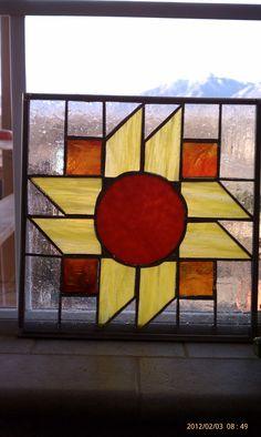 sunny quilt square