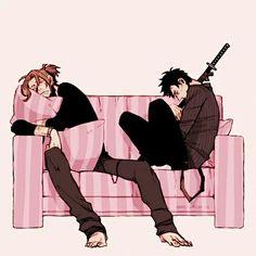 Gangsta- Worick Arcangelo and Nicolas Brown #Anime #Manga
