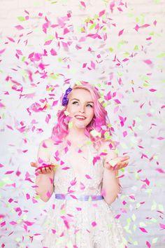 Confetti Bride: A Wacky Party Shoot