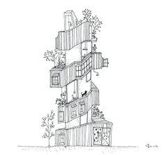 Double Helix House / Onishimaki + Hyakudayuki Architects   ArchDaily