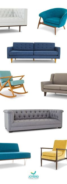 Joybird: handcrafted mid-century design perfectly customized to fit your needs…