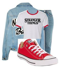 """NIÑA"" by perfect-misfit-16 on Polyvore featuring Topshop and Converse"