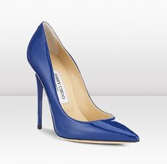 Jimmy Choo blue pumps. From Cruise 2012 collection. Love.