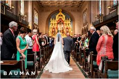 Amazing chapel! USD Founders Chapel Wedding, Photography by Bauman Photographers  View More:  http://baumanphotographers.com/blog/uncategorized/2015/11/darlington-house-wedding/