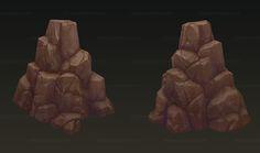 ArtStation - stone, Ht Jiang