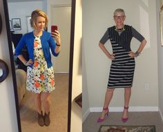 What We Wore: Spring Dresses - Two Take on Style