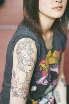 Pretty line tattoo