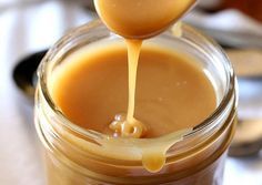 Microwave toffee/rich caramel sauce