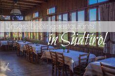 Restaurants in Suedtirol - Titel South Tyrol, Alps, Hiking, Neon Signs, Italy, Restaurants, Places, Outdoor Decor, Travel