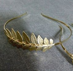 Bridal Hair Accessories ,Wedding Bridal Hair Piece ,Grecian Goddess Headband ,Grecian Leaf Greek  Goddess, Gold Leaf Tiara on Etsy, $50.79 CAD