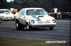 Vintage Drag Racing - Pro Stock - The USA 1 Vega