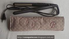 CosoQueTeCoso: Funda plancha para el pelo